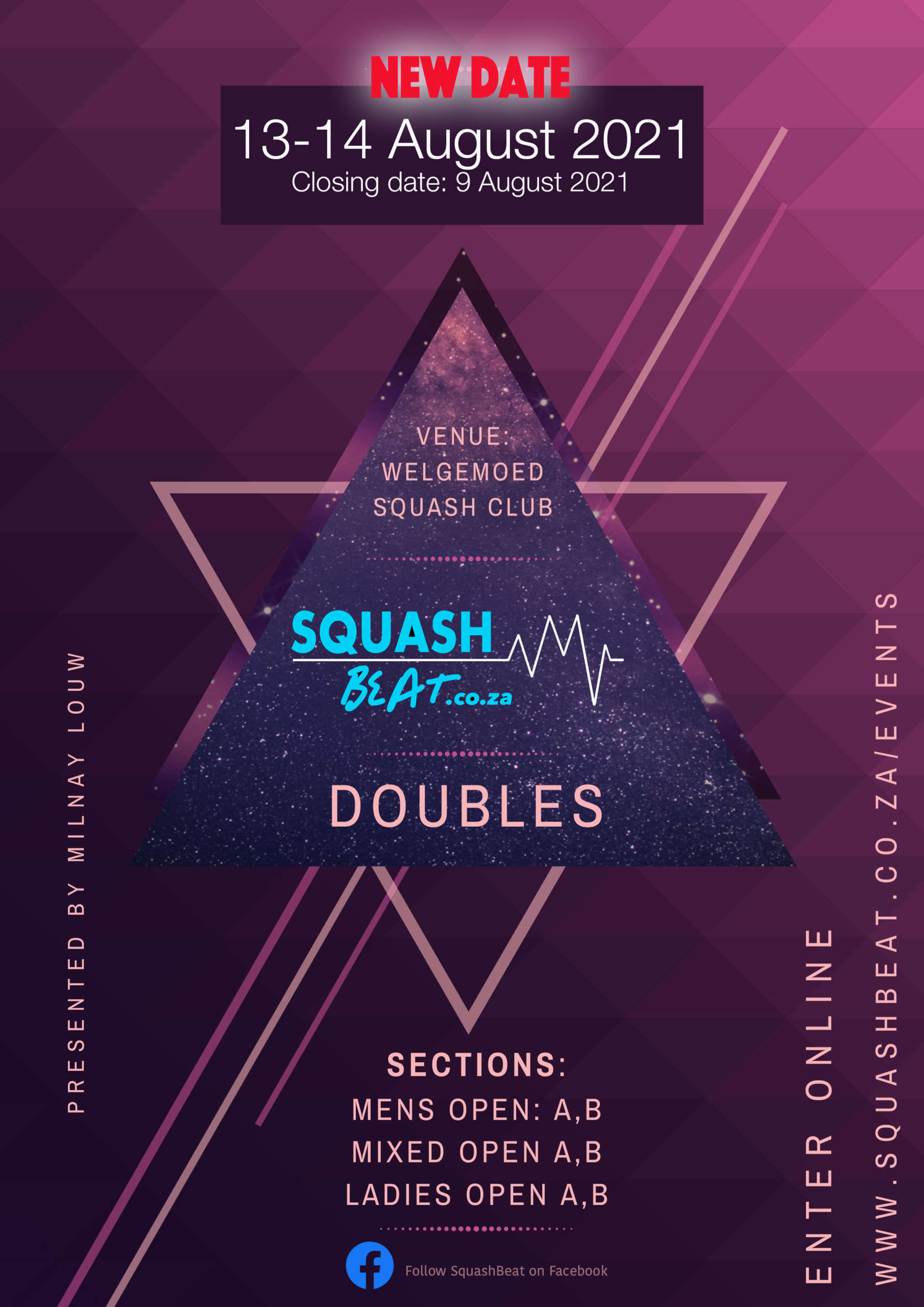 Squash Beat Doubles Results 2021